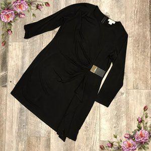 MICHAEL Michael Kors long sleeve buckle dress